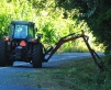 Roadside brushing and mowing